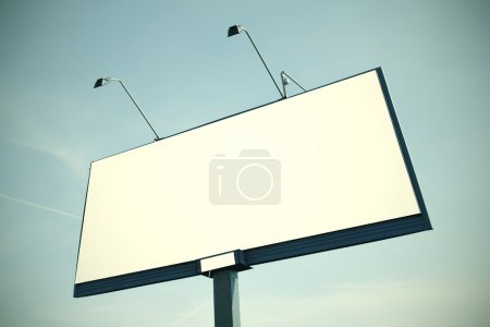 Photo for Huge billboard with clear space - Royalty Free Image