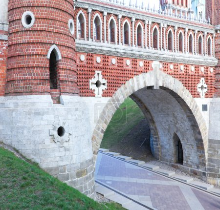 Tsaritsino museum and reserve in Moscow. Reconstruction of the 18 th centur
