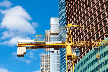 Photo for Construction of multistory building - Royalty Free Image