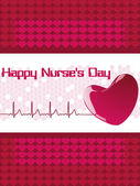 greeting card for happy nurse's day