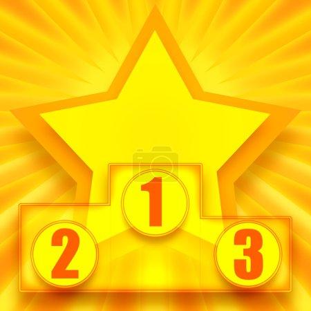 Podium of winners