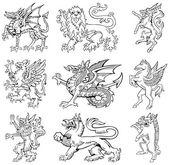 Heraldic monsters vol III