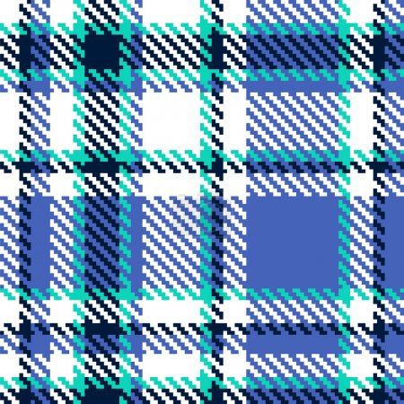 Seamless abstract checkered vector pattern