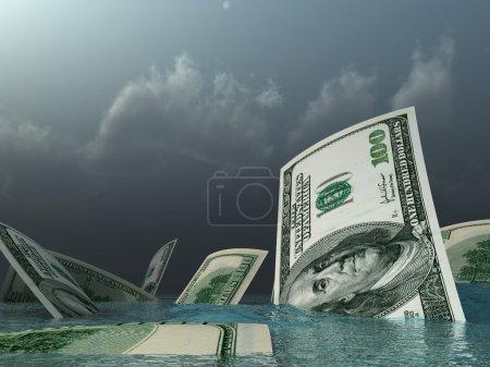 Go under dollars