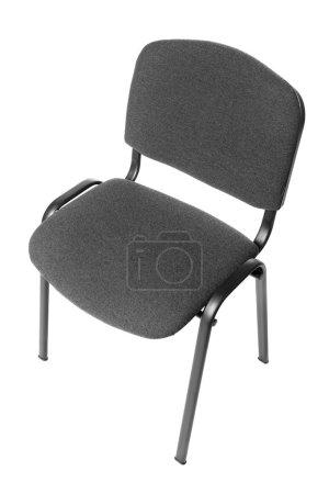 Photo pour Chaise de bureau. Un sujet de mobilier isolé sur fond blanc - image libre de droit