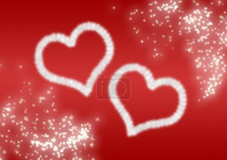 Two heart background