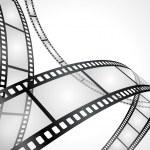 Film strip vector background...
