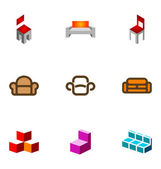 9 logo or icon design elements