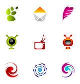 Logo design elements set 08