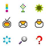 Logo design elements set 07