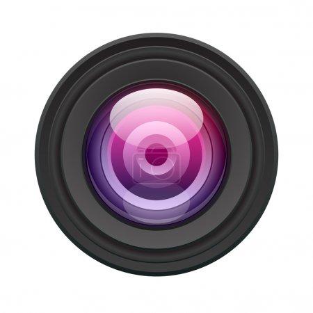 Illustration pour Illustration vectorielle de l'objectif. Eps 10 . - image libre de droit