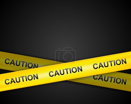 Caution line tape