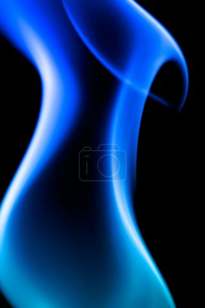 Photo for A blue abstract background - Royalty Free Image