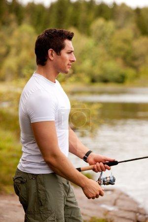 Fishing Portrait