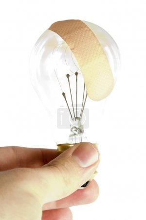 Light Bulb Bandage