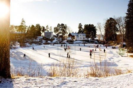 Winter Skating Fun