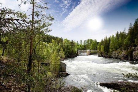 Hydro Power River
