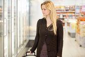 Supermarket Shopping Woman