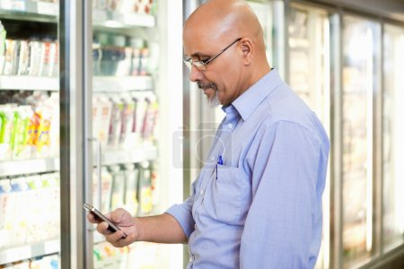 Cell Phone Grocery List