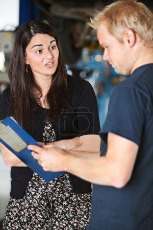 Upset Female Customer
