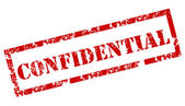 Confidential rubber stamp