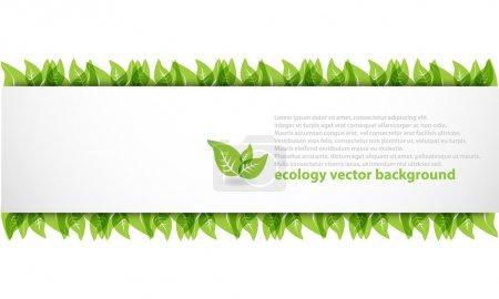 nowoczesne ekologia streszczenie tło
