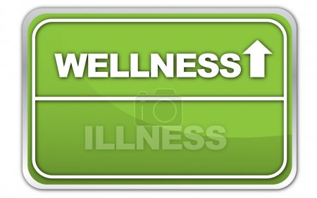 """Wellness vs. Illness"" Signpost"