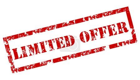 """""""Limited Offer"""" stamp"""