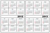 Šablona kalendáře