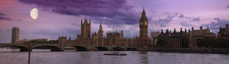 Photo for Big Ben, London at sunset panorama - Royalty Free Image