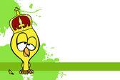 Cute cartoon chick