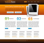 Website creative template
