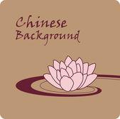 Lotus chinese background