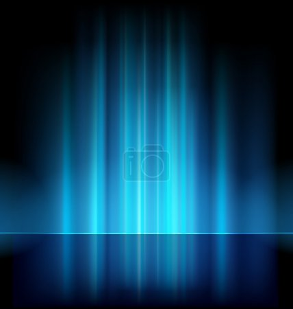 Illustration for Abstract blue vector backgrounds - Royalty Free Image