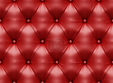 Photo for Seamless red leather texture - Royalty Free Image