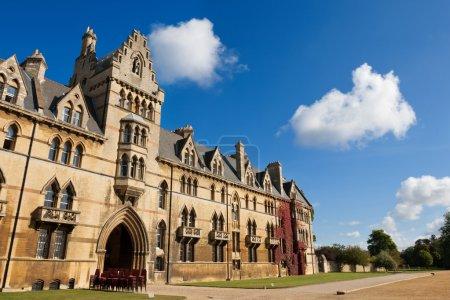 Photo pour La maison du Christ Church College, Université d'Oxford, Royaume-Uni - image libre de droit