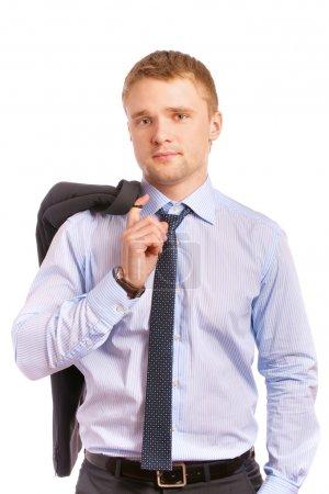 Portrait of young businessman