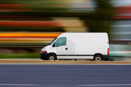 Blur speedy white van