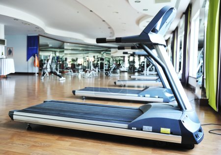 Sport club gym, empty of