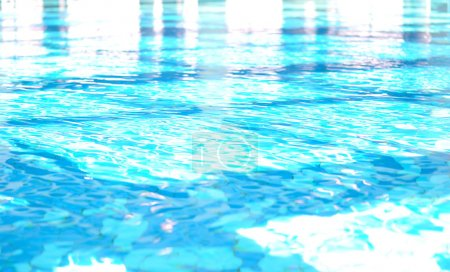 On beautiful pool, summer great time!