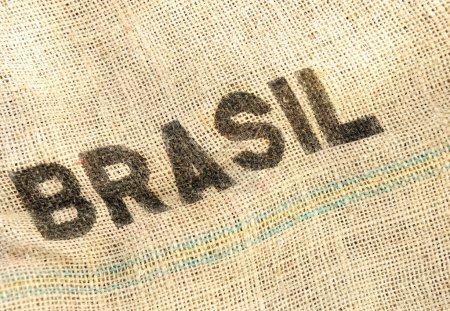Photo pour Brasil, vieux fond grunge - image libre de droit