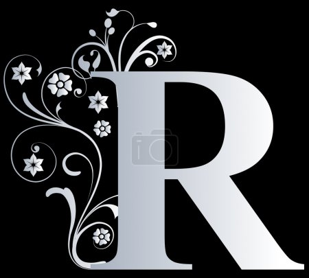 Lettre majuscule R