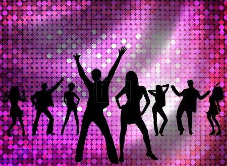 Photo pour Disco - danse jeune - image libre de droit