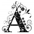 Letter Capital A...