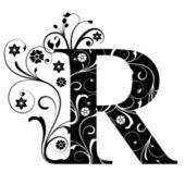 Písmeno, velké písmeno r