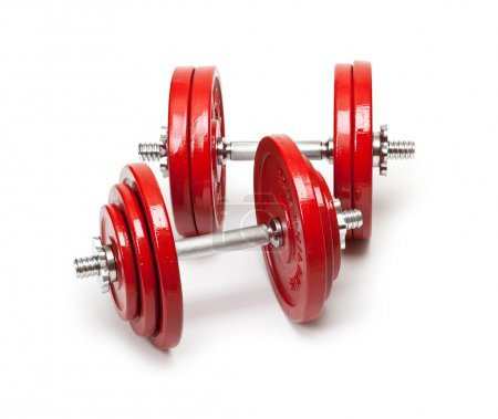 Body building - dumbbells