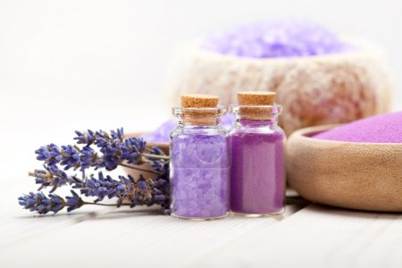 Spa and wellness - Lavender minerals