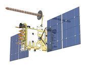 Moderní gps satelitní izolované