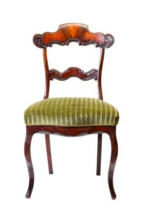 Photo pour Chaise antique vintage - image libre de droit