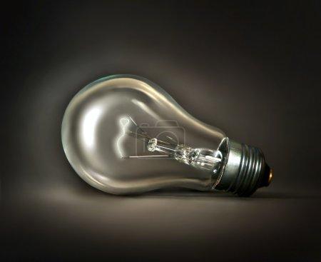Lamp on dark